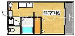 REVEハヤト[2階]の間取り