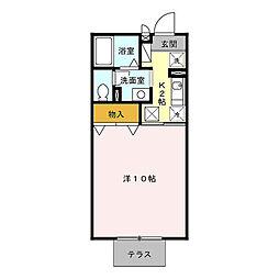 HOM・1[1階]の間取り