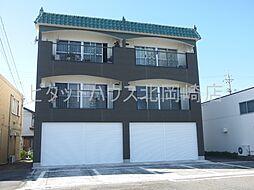 愛知県岡崎市筒針町字上川田丁目の賃貸マンションの外観