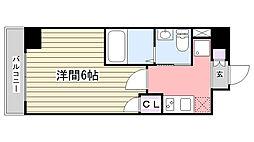 プレール・ドゥーク津田沼[105号室]の間取り