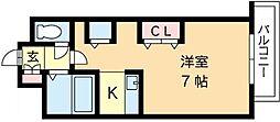北海道札幌市中央区北八条西15丁目の賃貸マンションの間取り
