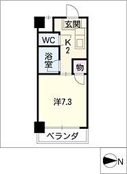 タウニィフジタ[3階]の間取り