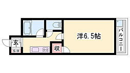 JR加古川線 滝野駅 バス25分 依藤野下車 徒歩5分の賃貸マンション 1階1Kの間取り