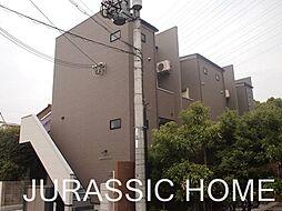 大阪府堺市北区常磐町3丁の賃貸アパートの外観