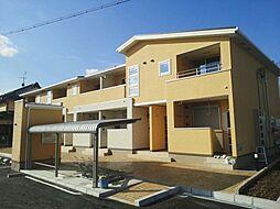 大阪府寝屋川市太間町の賃貸アパートの外観