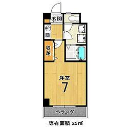 メゾンMINORU[2階]の間取り