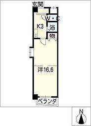 ファーブルハイム[4階]の間取り