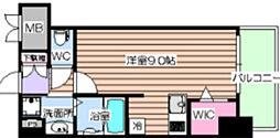 大阪府大阪市北区豊崎6丁目の賃貸マンションの間取り