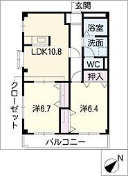 Taplow−court[2階]の間取り