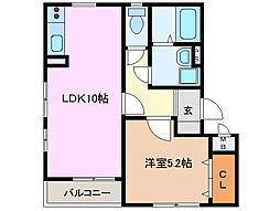 グローバルトラストマンション[3階]の間取り