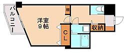 パークコート太宰府[2階]の間取り