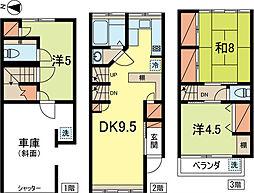 [一戸建] 東京都杉並区和田3丁目 の賃貸【東京都 / 杉並区】の間取り