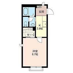 マストライフ百合ヶ丘II−A棟[2階]の間取り