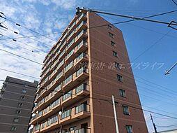 北海道札幌市東区北三十九条東20丁目の賃貸マンションの外観