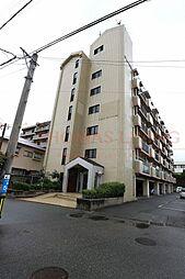 福岡県古賀市花見東4丁目の賃貸マンションの外観