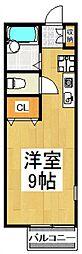 COMODO東藤沢[2階]の間取り