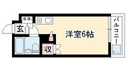 愛知県名古屋市昭和区川名本町1の賃貸マンションの間取り