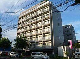北海道札幌市豊平区旭町5丁目の賃貸マンションの外観