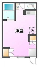 メイゾン平岡[1階]の間取り