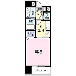 K2[602号室]の間取り