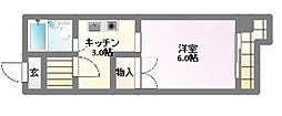 ネオ・ウィスタリア1[3階]の間取り