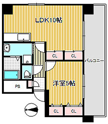 コンヤスビル[9階]の間取り