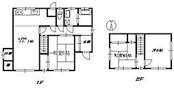 [一戸建] 神奈川県厚木市戸室1丁目 の賃貸【/】の間取り