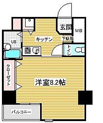 プレサンス神戸メリケンパーク前[4階]の間取り