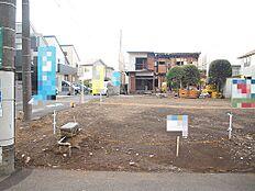 国分寺市西町第3期 建築条件無し売地 No.1 外観です。