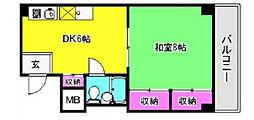 平田ビル[2階]の間取り