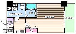 エスリード福島駅前第2[8階]の間取り