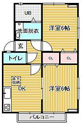 KMS・S−4 A1[302号室]の間取り