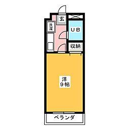 浅川マンション[2階]の間取り