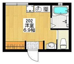 新高円寺新築計画[202号室]の間取り