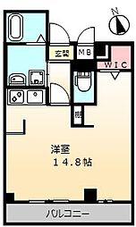 大阪府堺市西区浜寺石津町東4丁の賃貸アパートの間取り