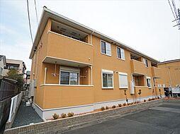 静岡県浜松市中区和合北4丁目の賃貸アパートの外観