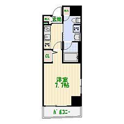VERXEED亀有[01203号室]の間取り