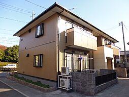 岡山県倉敷市中畝8丁目の賃貸アパートの外観