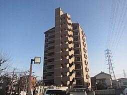 大阪府大阪市住吉区遠里小野3丁目の賃貸マンションの外観