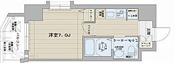 エステムコート博多・祇園ツインタワーセカンドステージ[6階]の間取り