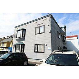 北海道札幌市東区北37条東27丁目の賃貸アパートの外観