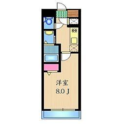 K2H[703号室]の間取り