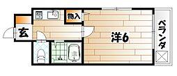 プレアール戸畑駅東II[3階]の間取り