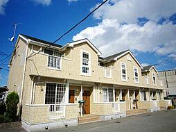 福岡県福岡市東区松田1丁目の賃貸アパートの外観