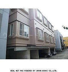 北海道札幌市豊平区平岸三条9丁目の賃貸アパートの外観