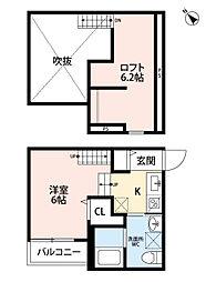 新築 トスカーニ[202号室号室]の間取り