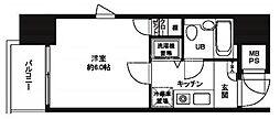 日神パレステージ関内[4階]の間取り