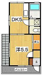 [テラスハウス] 神奈川県小田原市蓮正寺 の賃貸【/】の間取り