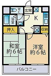 ファーストクラスさがみ野第23階Fの間取り画像