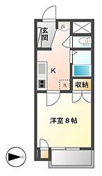 長野県長野市大字稲葉の賃貸マンションの間取り
